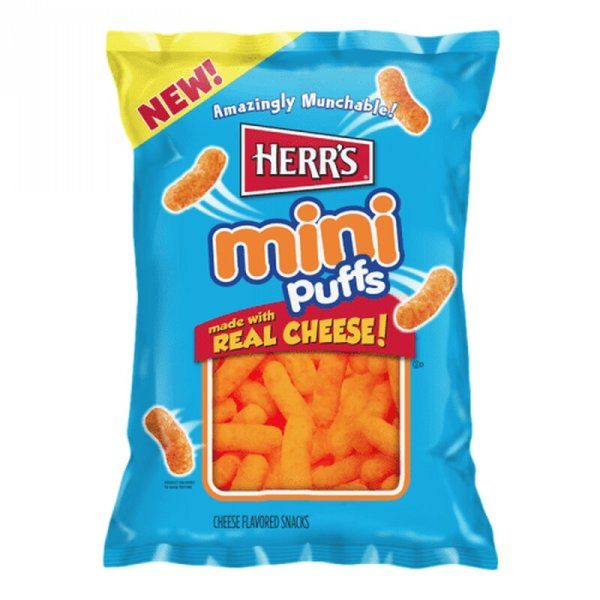 Herr´s Mini Puffs with Real Cheese 170g