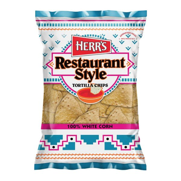 Herr's Restaurant Style Tortilla Chips 255g