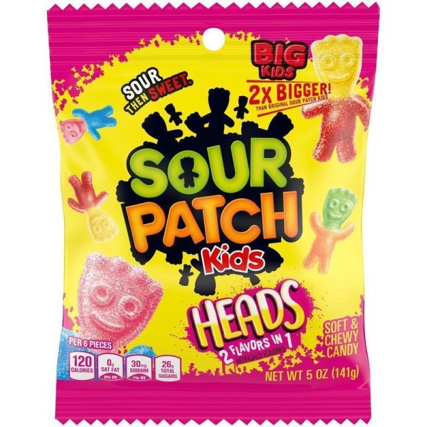 Sour Patch Kids Heads 141g