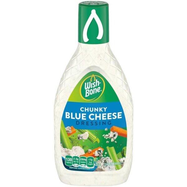 Wish-Bone Chunky Blue Cheese Dressing 444ml