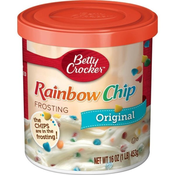 Betty Crocker Rainbow Chip Frosting 453g