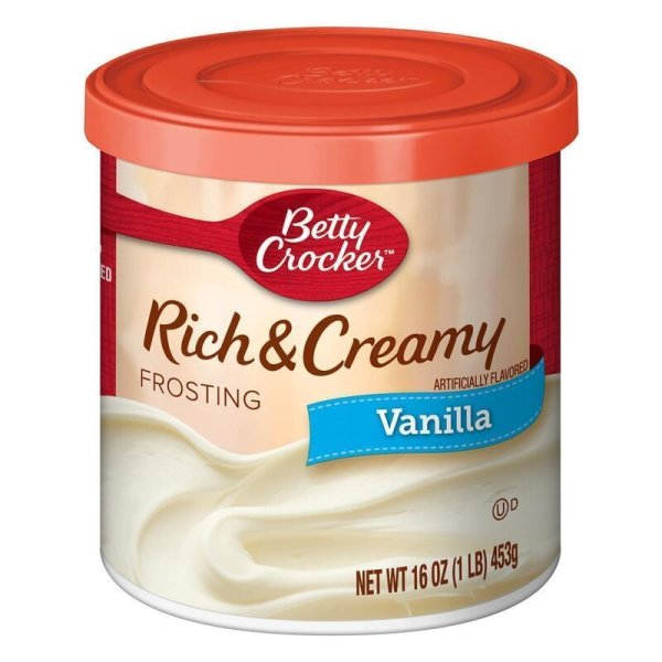 Betty Crocker Rich & Creamy Frosting Vanilla 453g
