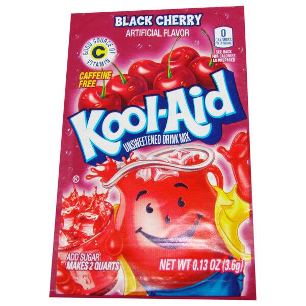 Kool Aid Unsweetened Drink Mix Black Cherry 3,6g