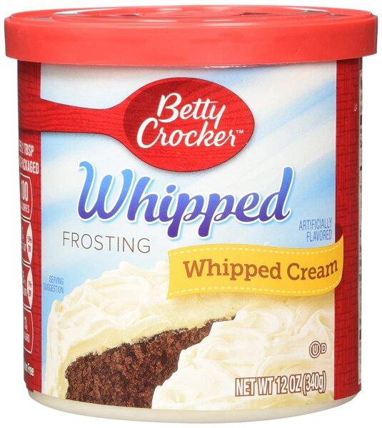 Betty Crocker - Whipped Frosting - Whipped Cream 340g