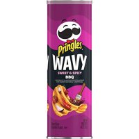 Pringles - Wavy Sweet & Spicy BBQ 137g