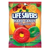Lifesavers Hard Candy 5 Flavours 177g