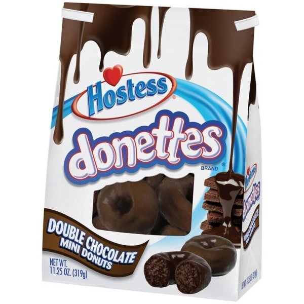 Hostess Donettes Mini Donuts Double Chocolate 305g