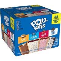 Kelloggs Pop-Tarts 32 Stück Packung 1,53kg