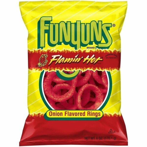 Funyuns Flamin Hot 163g