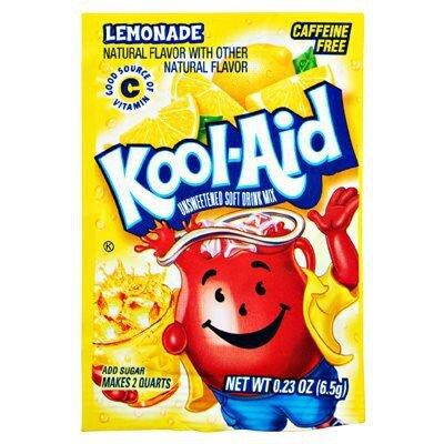 Kool Aid Unsweetened Drink Mix Lemonade 3,6g