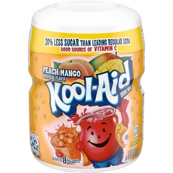 Kool Aid Drink Mix Peach Mango 538g