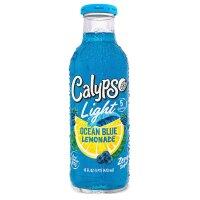Calypso - Ocean Blue Light  Glasflasche 473 ml