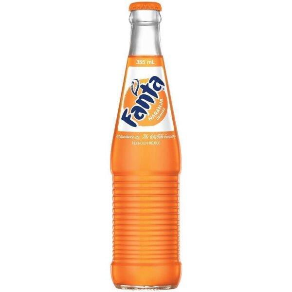 Fanta - Orange MEXICO Glasflasche  355 ml