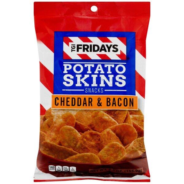 TGI Fridays Potato Skins Cheddar & Bacon 113g