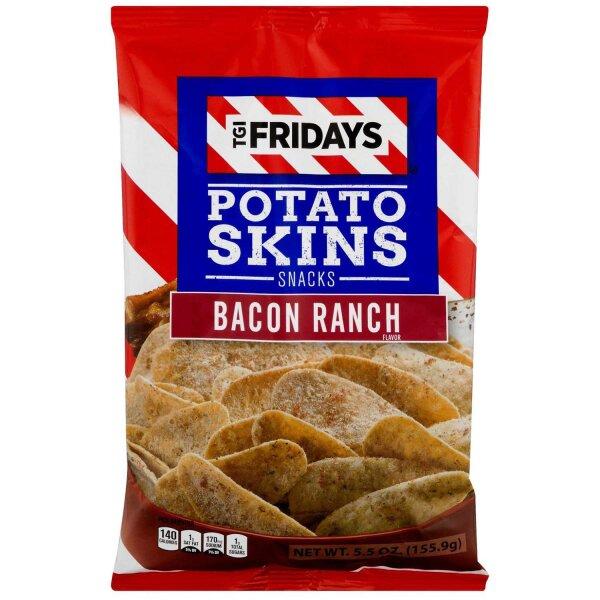 TGI Fridays Potato Skins Bacon Ranch 113,5g