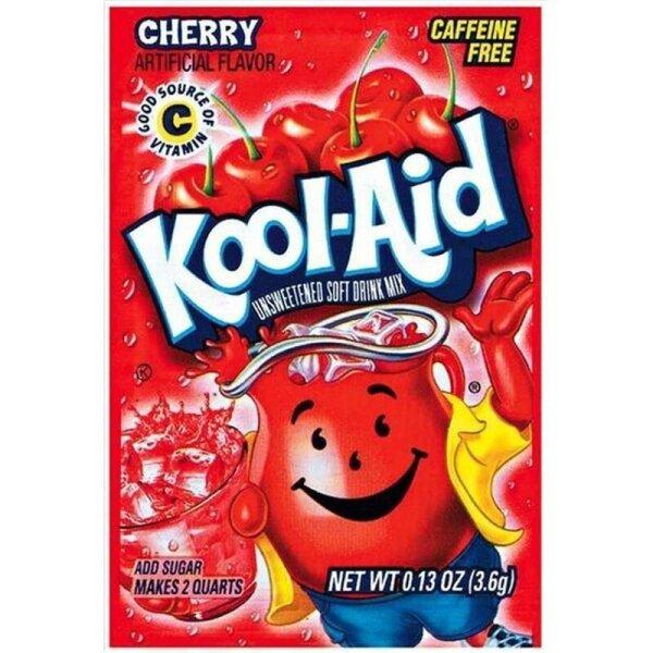 Kool Aid Unsweetened Drink Mix Cherry 3,6g