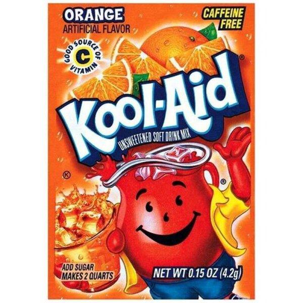 Kool Aid Unsweetened Drink Mix Orange 4,2g