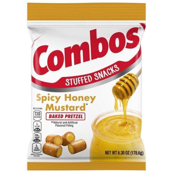 Combos Spicy Honey Mustard Pretzel 157g