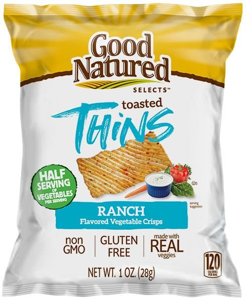 Good Natured Toasted Thins Ranch 28g