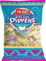 Herr´s Bite Size Dippers Tortilla Chips 340g