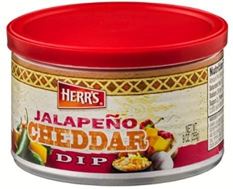 Herr´s Jalapeno Cheddar Dip 255g