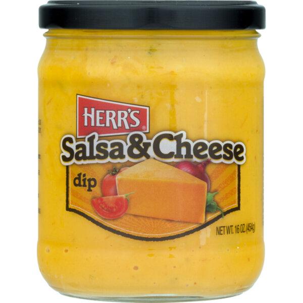 Herr´s Salsa & Cheese Dip 454g