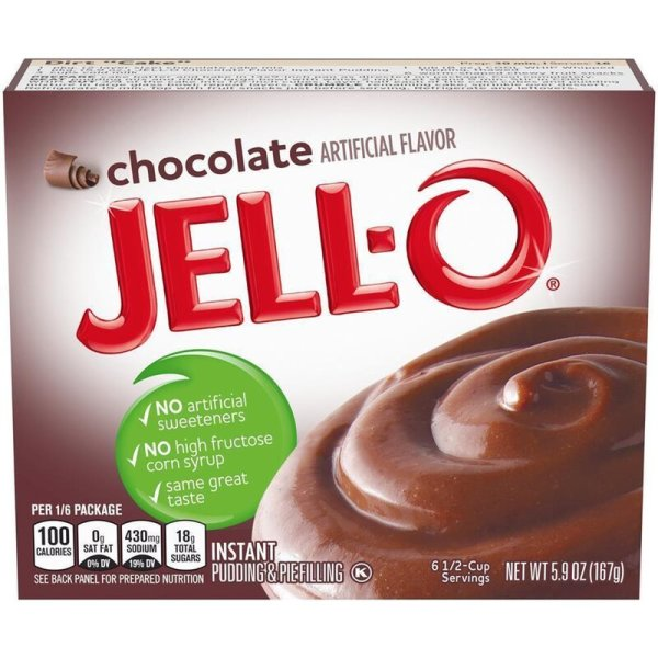 Jell-O Chocolate Instant Pudding & Pie Filling 110g