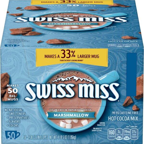 Swiss Miss Marshmallow Hot Cocoa Mix 1,95Kg