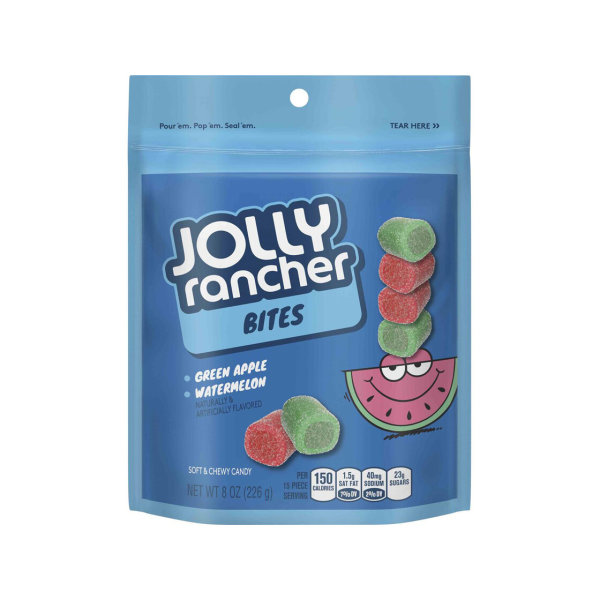 Jolly Rancher Bites Green Apple and Watermelon 226g