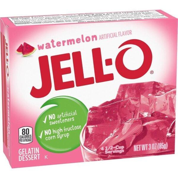 Jell-O Watermelon Gelatin Dessert 85g