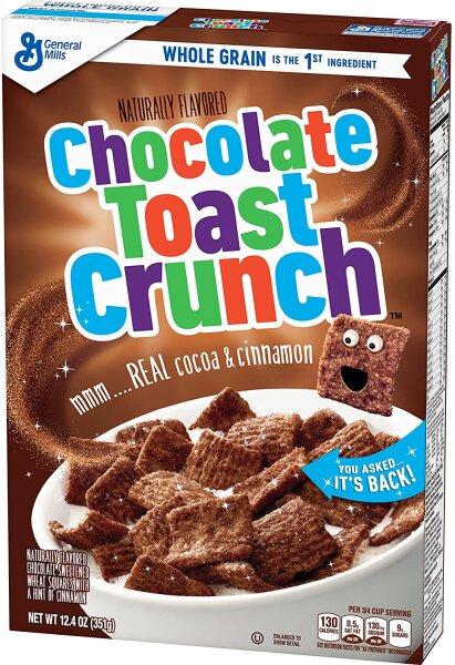 General Mills Chocolate Toast Crunch 351g