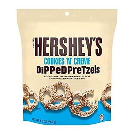 Hershey's Cookies 'n' Creme Dipped Pretzels 240g