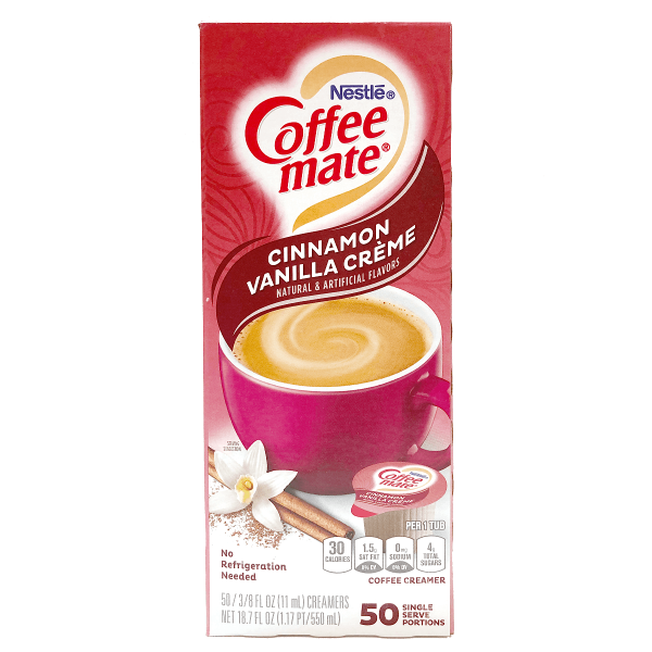 Nestle - Coffee Mate Cinnamon Vanilla Créme 50 x 11 ml