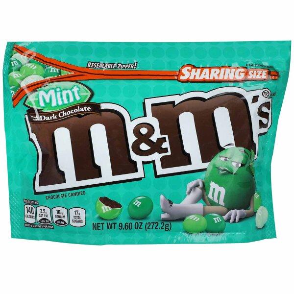 M&Ms Mint-Dark Chocolate 272,2g