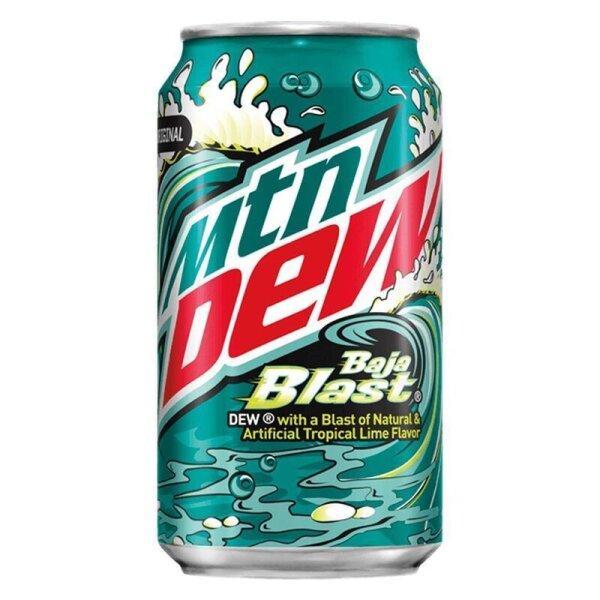 Mountain Dew - Baja Blast - 355ml