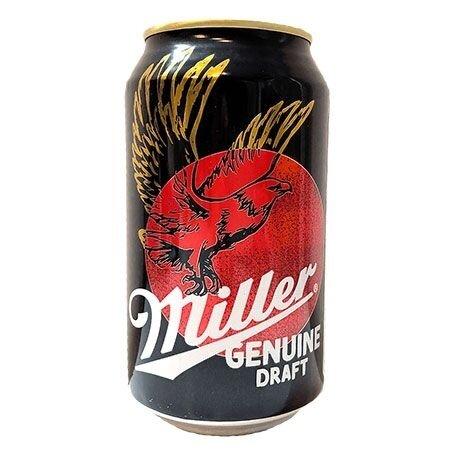 Miller Genuine Draft Beer 355ml