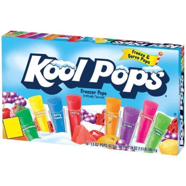 Kool Pops Assorted Freezer Pops 567g