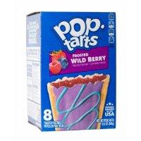 Kelloggs Pop-Tarts Frosted Wild Berry - 8 Stück - 384g