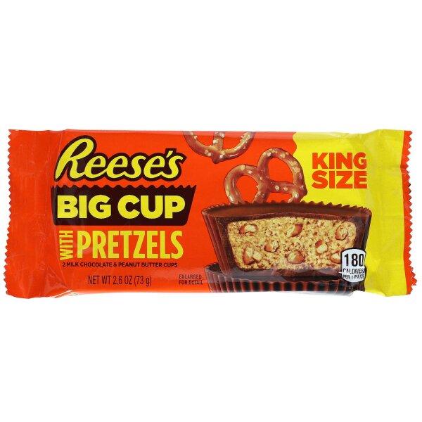 Reeses Big Cup Pretzels King Size 73g