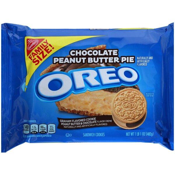 Oreo Chocolate Peanut Butter Pie 482g