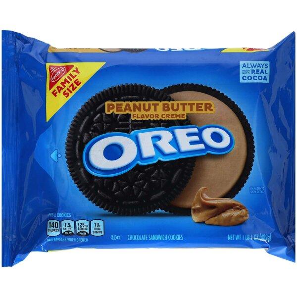 Oreo Peanut Butter Flavor Creme 482g