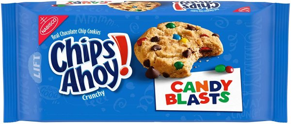 Chips Ahoy Cookies Candy Blasts 351g