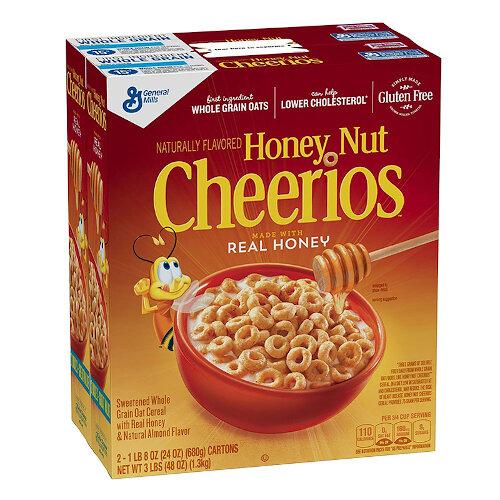 General Mills Cheerios Honey & Nut 1.3 kg