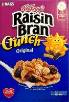 Kelloggs Raisin Bran Crunch Orginal Cereal 1,19kg