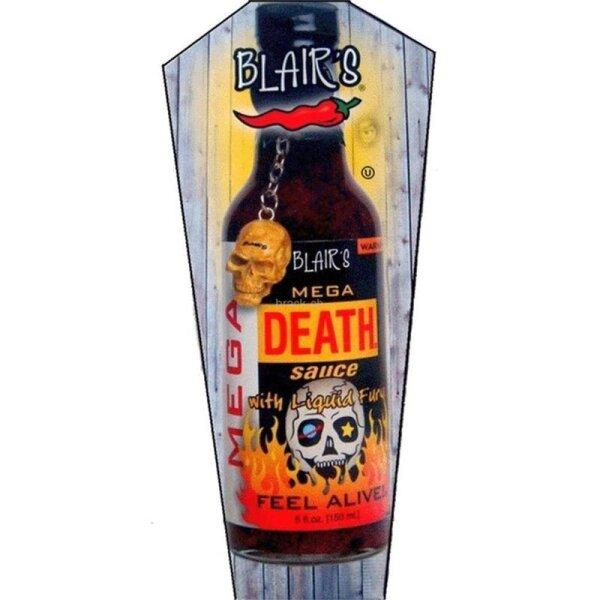 Blair´s Mega Death Sauce With Liquid Fury 150ml
