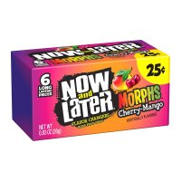 Now and Later Morphs Cherry Mango 26g