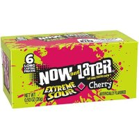 Now and Later Extreme Sour Cherry 26g