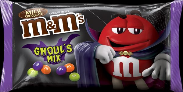 M&M's Ghoul's Mix Milk Chocolate Halloween Candy 283,5g